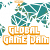 Global Game Jam Logo Transpirant